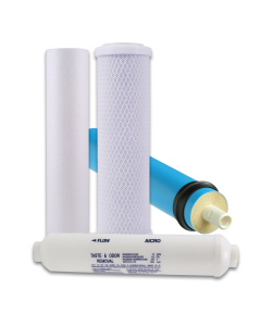 Reverse Osmosis Filter Kit - 4-Stage RO System - 50 GPD Rated