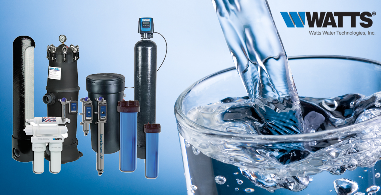 Watts Water Technology - Leader in water purification products