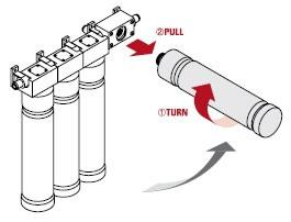 Watts Kwik Change RO - Filter Removal